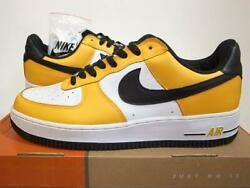 Nike Air Force 1 Co.jp Limited Japan Item Sneakers Yellow/white Never Used