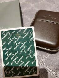 Audemars Piguet Watch Playing Poker Cards Grimaud With Leather Holder Vip