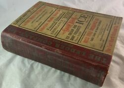 1928 Morrison And Fourmy City Directory Fort Worth Texas / Antique Reference Book