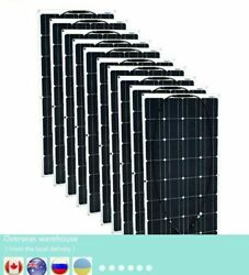 Monocrystalline Silicon Solar Panel Kits Cell Pv Connector For 12v Battery House