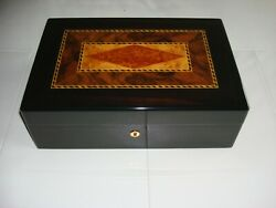 Excellent Condition Prometheus Humidor Cigar Box Made In France Vintage