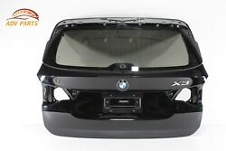 Bmw X3 G01 Tailgate Liftgate Back Door Shell Panel W/ Glass Oem 2018 - 2020 💎