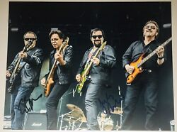 Blue Oyster Cult Band X2 Authentic Signed Autograph 8x10 Photo Eric, Jules Rare