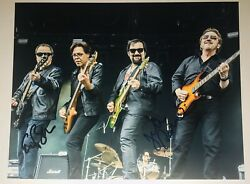 Blue Oyster Cult Band Authentic Signed Autograph 8x10 Photo Eric And Jules X2 Rare