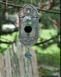 Victorian Trading Vintage Style Door Knob Stately Manor Birdhouse Red Carpet
