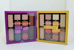 Maybelline 12-pan Eyeshadow Palette. Choose Shade. Qty Discount