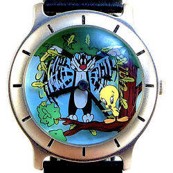 Tweety Bird Sylvester The Cat, Fossil's Warner Bros. Collectible Watch Just 89