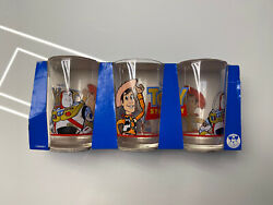 1994 Disney Collection Toy Stoy Juice Glasses Origin France