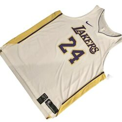 Nike Los Angeles Lakers Kobe Bryant 24 Jersey Sz 3xl With Kb Patch