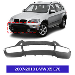 New Textured Front Bumper Cover For 2007-2010 Bmw X5 E70 With Pdc Sensor Holes