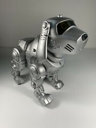 Vintage 90s Tekno Toy Quest Motion Interactive Robot Puppy Dog Works Great
