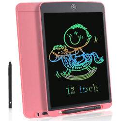 12 Inch Lcd Handwriting Board Arithmetic Draft Painting Colored Handwriting