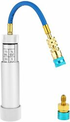R134a Oil Injector With R1234yf Low Side Quick Coupler Hvac Dye 1/4 Sae Connect