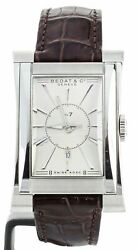 Bedat No. 7 Date Stainless Steel 29x46mm Ref 737 Full Set