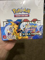 Pokemon Tcg Xy Evolutions Sealed Booster Box - Pack Of 36 Mint