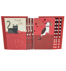 "Lot of 6 Hallmark Valentine Cards ""From The Cat"" ""From The Dog"""