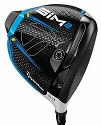 Taylormade Golf Sim2 10.5 Right Handed Driver Custom You Pick Shaft And Flex