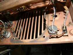 Vintage Wire Recorder Chassis/motor/output Trans/controls Webster Chicago 80-1