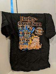 Harley Davidson Grease Your Hog T Shirt Xl In Oil Can Packaging Z4