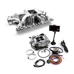 Ford 351w Windsor Shootout Manifold And Fitech Go Efi 30001 Fuel Injection