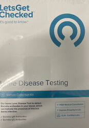 Let's Get Checked Lyme Disease Testing Sample Collection Kit