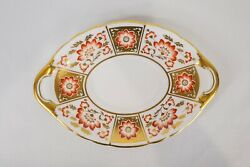 Royal Crown Derby Red Derby Panel Gravy Boat Underplate Only Free Usa Shipping