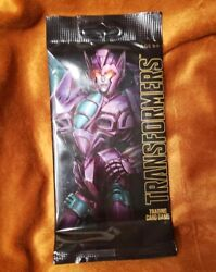 2018 Sdcc Exclusive Hasbro Transformers Trading Card Game Packs Rare Tcg Foil