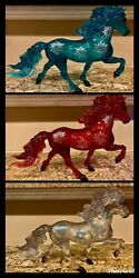 Breyer 712348 Ruby Turquoise Clear Christmas Surprise Moving Must Sell