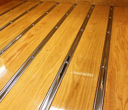 Bed Strips Chevy 1967 - 1972 Polished Stainless Gmc Chevrolet C10 Short Stepside