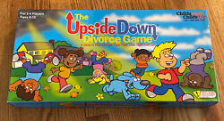The Upside Down Divorce Game 100 Complete Child Therapy Childs Play Boardgame