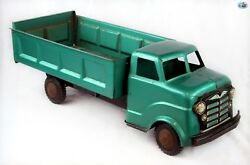Awesome 1950s Original Vintage Large Marx Lumar Pressed Steel Dump Truck