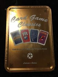 Card Game Classics | Pit + Waterworks + Mille Bornes + Can | Winning Moves | New