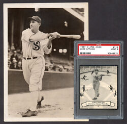 Card Image 1930and039s Luke Appling Photo Used For 1937 O-pee-chee Baseball Card