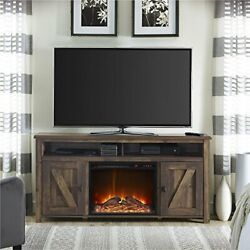 Ameriwood Home Farmington Electric Fireplace Tv Console For Tvs Up To 60,