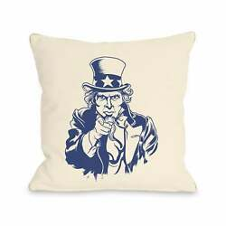 Uncle Sam Navy Pillow by OBC $28.49
