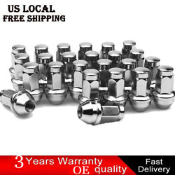 Set Of 24 Black Oem Factory Style 14x2.0 Lug Nuts For Ford F-150 Expedition