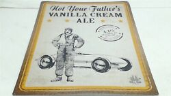 Not Your Fatherand039s Vanilla Cream Ale Small Town Brewery Tin Beer Sign Bar 24x18and039