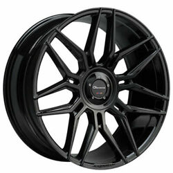 24 Giovanna Bogota Gloss Black With Tires Range Rover Hse Charger Challenger