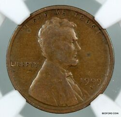 Better Date Ngc Vg10 1909-s Lincoln Wheat Cent 1c  Bc17
