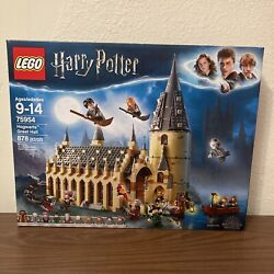 New Lego Harry Potter Hogwarts Great Hall 75954 Building Set 878 Pieces Sealed