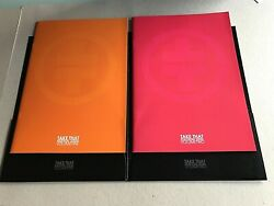 Take That The Ultimate Tour 2006 Volumes 1+2 Programmes In Folder