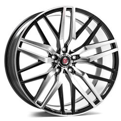 20 Inch 20x10 Axe Ex30 Machined Face Blanks Wheels Rims 5x115 +25