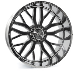 24 Inch 24x12 Axe Forged Ax1.5 Polished Wheels Rims 8x170 -44