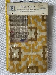 Vintage Fabric Sample Book Fiberglas Centenial Upholstery Home Decor 70and039s Bright