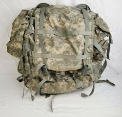 Military Molle Ii Rucksack Backpack Large With Frame Straps Pouches