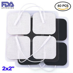 Electronic Electrode Pads For Auvon Rechargeable Tens Unit Muscle Stimulator
