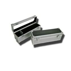 2- Aluminum Storage And Display Box Case Holds 25 Pcgs Or Ngc Certified Slab Coins