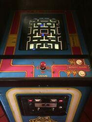 Original Ms Pacman Arcade Coin Operated Game
