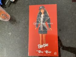 Rare Canadian Calvin Klein Barbie From The Bay, La Baie Limited Edition.