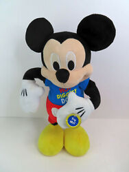 Disney Animated 15 Mickey Mouse Clubhouse Hot Diggity Dog Dance And Play Light-up